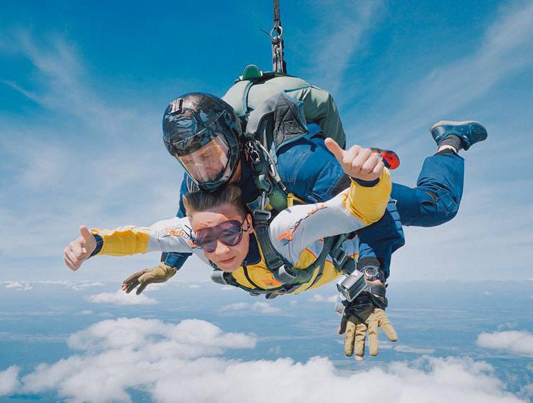Ограничения по возрасту на прыжки с парашютом