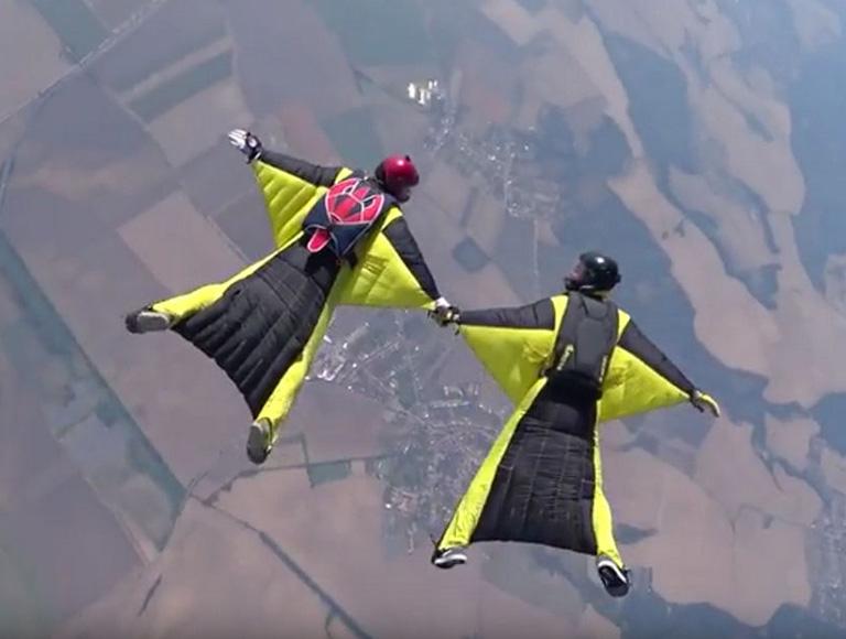 Wingsuit буги для начинающих — 11 мая