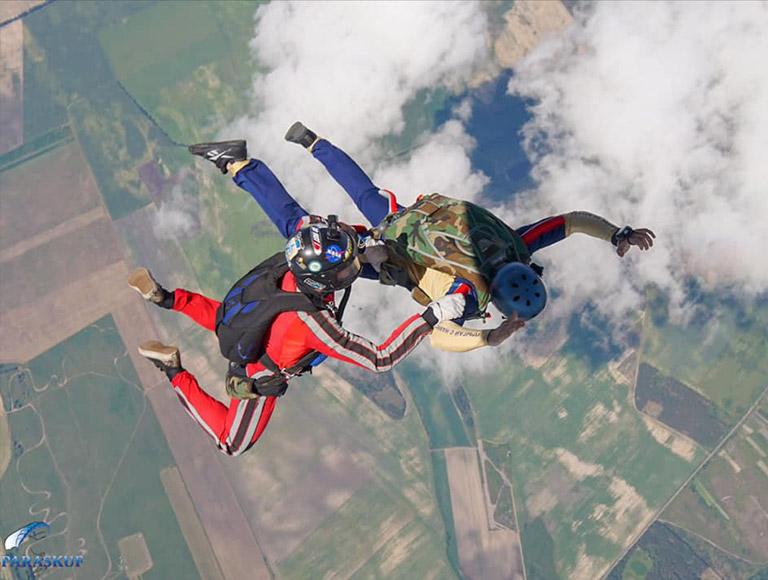 Открытие парашютного сезона после карантина