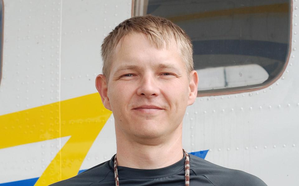 Максим Карась - Тандем-инструктор в ПАРА-СКУФ