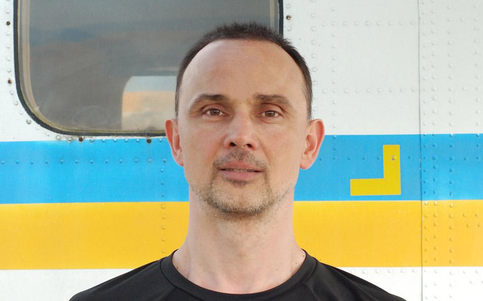Денис Сомин - Тандем-инструктор в ПАРА-СКУФ