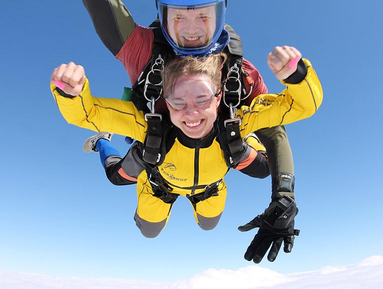 Прыгаем с парашютом 7, 8 и 9 августа