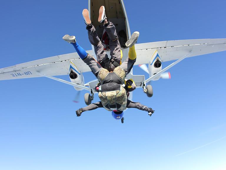 Прыжки с парашютом 14-16 августа – Аэродром Чайка