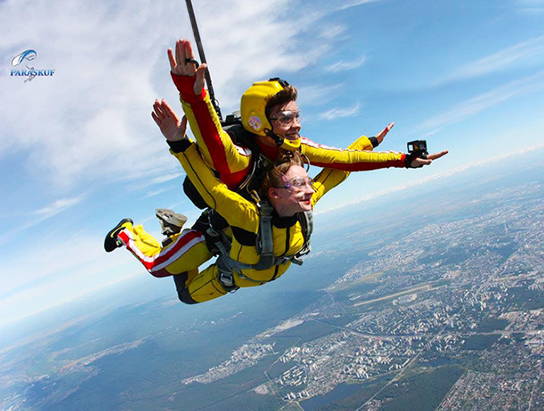 Стрибки з парашутом 1-4 травня 2021