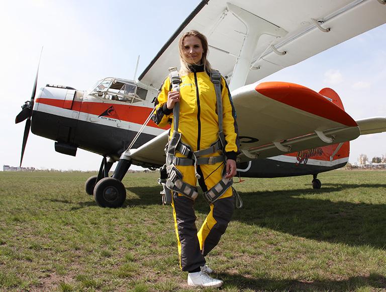 Стрибки з парашутом в Києві 08-10 травня