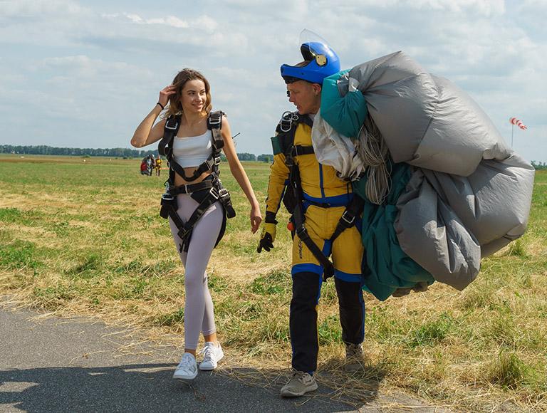 Skydiving in Kiev on 26-28 of June