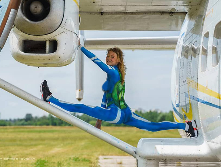 Skydiving in Kiev on July 3 and 4