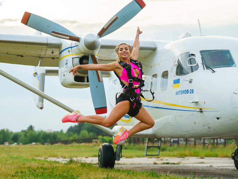 We jump with a parachute on July 10 and 11