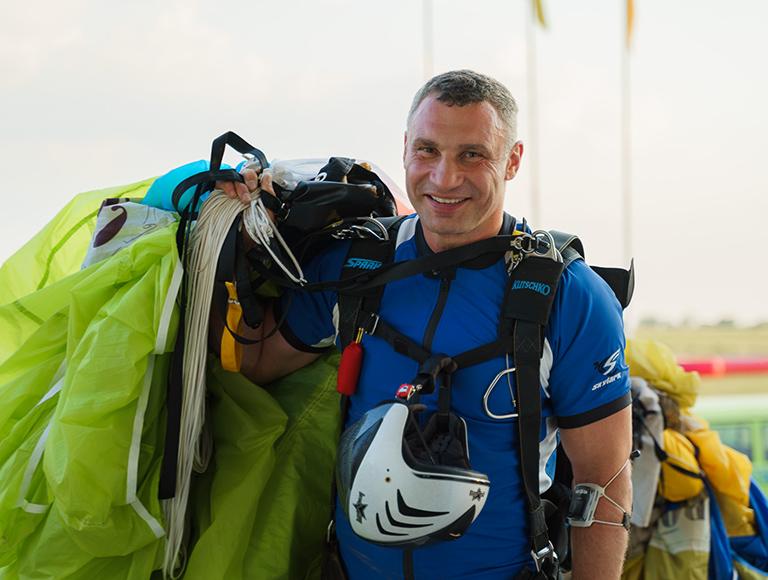 Прыжки с парашютом в Киеве 17 и 18 июля