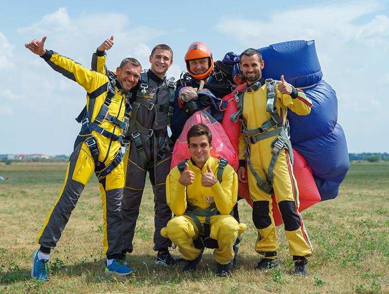 Прыжки с парашютом в Киеве 24 и 25 июля