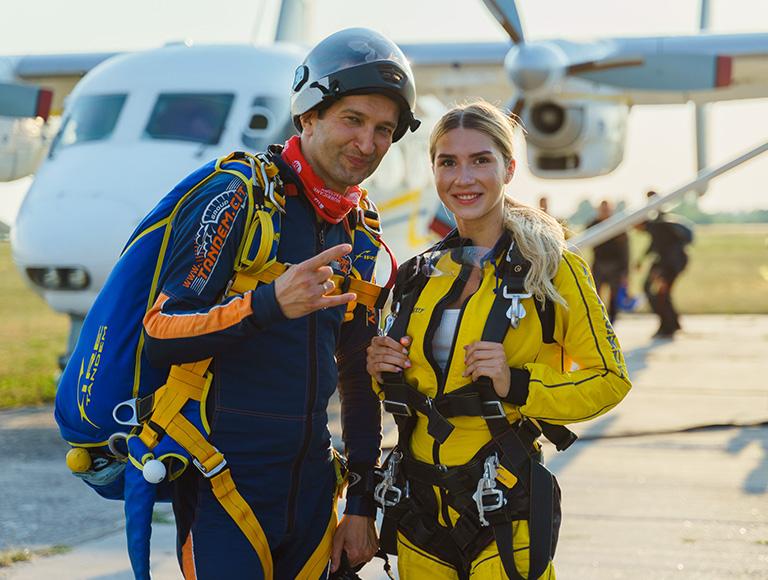 Прыжки с парашютом в Киеве 31 июля и 01 августа