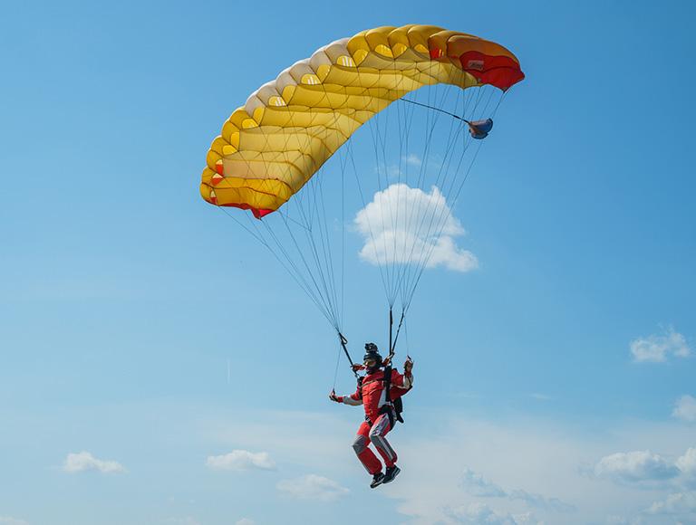 Прыжок с парашютом в Киеве 14 и 15 августа