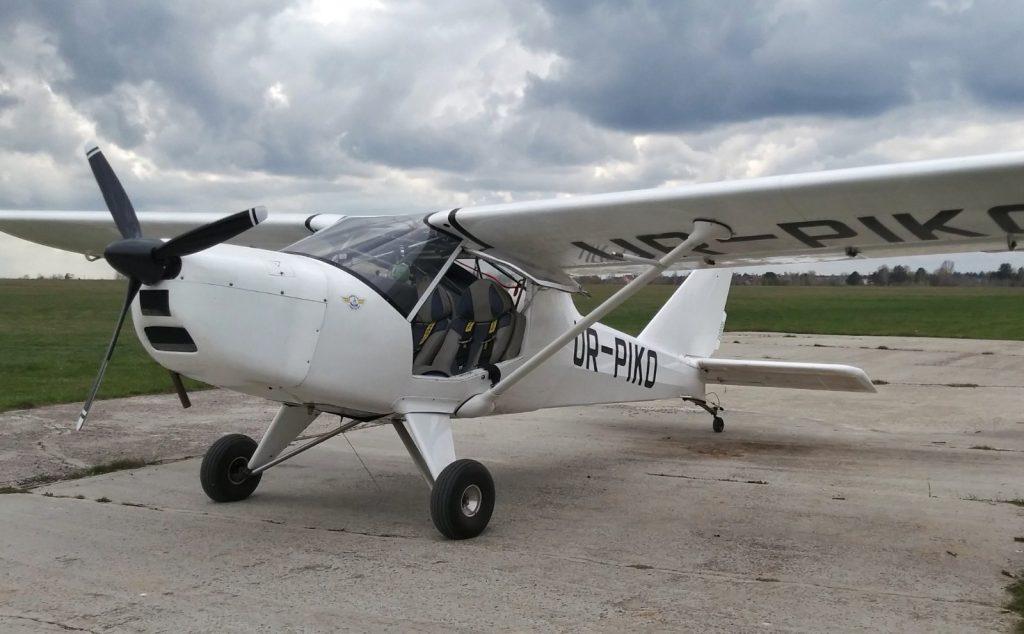 Flight by plane AI-10