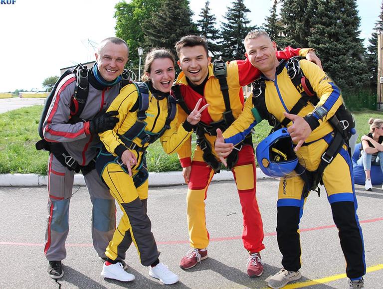 Прыжок с парашютом в Киеве 4 и 5 сентября